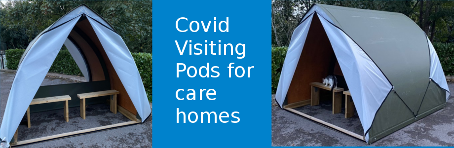 Covid Visiting Pod