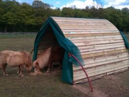 Shetland field shelter