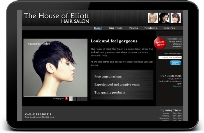 House of elliott website