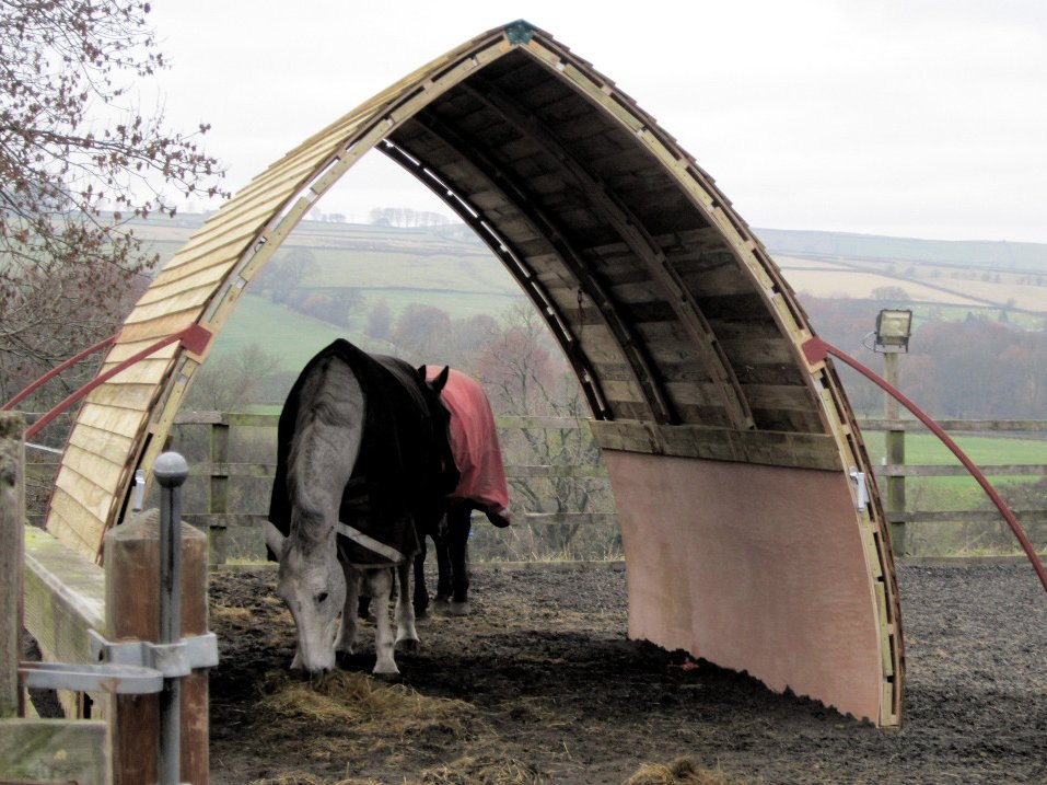 how to build your own field shelter